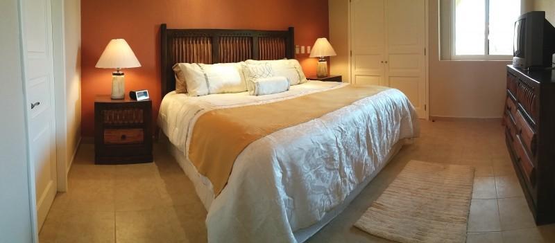 Large & comfy master bedroom.