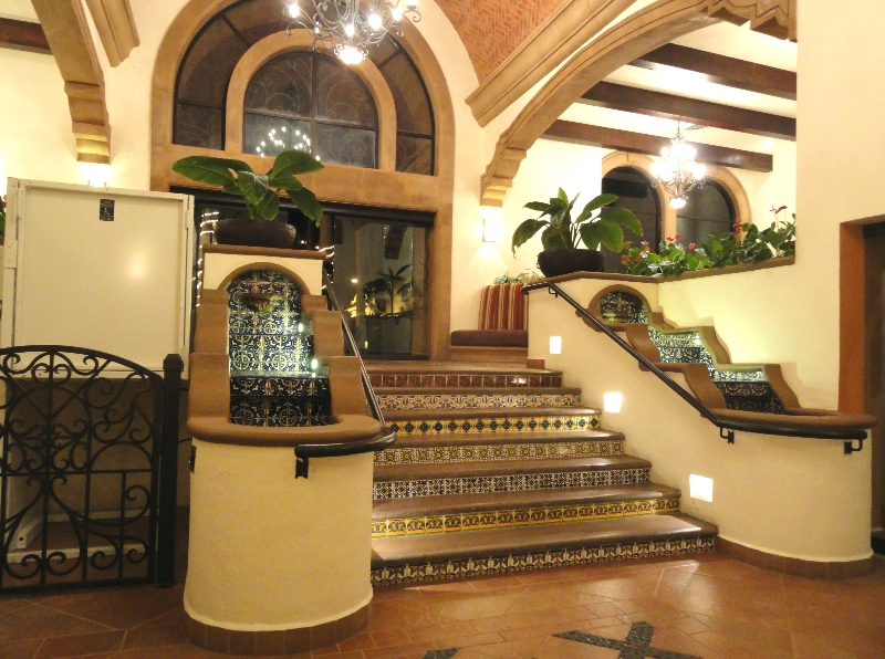 Attractive front entrance & lobby.