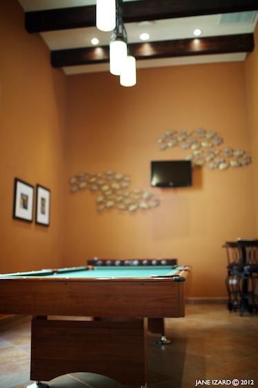 Nice game room.